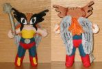Excuse me, Hawkgirl plush :p by Lil-Hawk