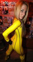 kinky Sara -Kill Bill Suit by DrMarten-Fetish-SM