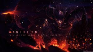 League of Legends - Pantheon Wallpaper by Soinnes