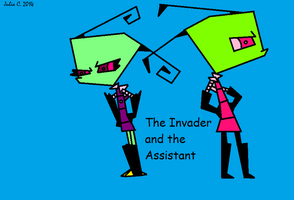 The Invader and the Assistant by 1nvader-M1L4