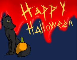 Happy Halloween Everyone by leafclan99