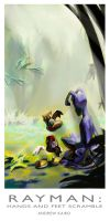 Rayman HAFS COVER by andrewk