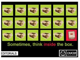 think inside the box by LifeClicker