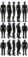 Mass Effect 3, MP Asari Adept Ref. by Troodon80