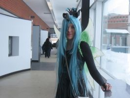 [Cosplay] Queen Chrysalis [MLP: FiM] by RicePoison