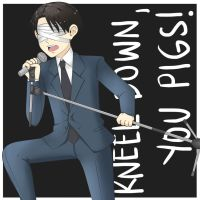 Kneel Down You Pigs Levi by mimimika...