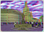 Dresden Frauenkirche 3D ::: Anaglyph HDR by zour