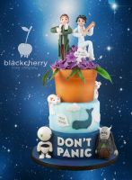 Hitchhikers Guide to the Galaxy by BlackCherryCake