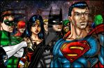 Justice League by BigRob1031