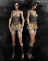 DISHONORED Prostitute 2 by Vault-Tech-Co