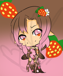 ~OPEN~ Strawberry Chocolate Fairy by Goldeye-and-Cory