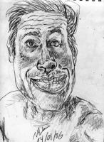 A Self-Portrait By Ronald by Keri-Is-So-Very