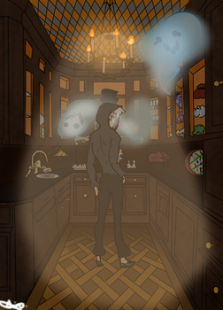 Ghost house by CopyCat2001