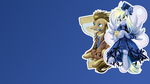 Doc and Derpy Wallpaper by Scootachicken