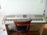 My Yamaha DGX-505 Keyboard by FireFoxOmicron