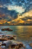 Golden glorious Sydney Harbour by Kounelli1