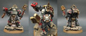 Blood Angels Chaplain In Terminator Armor by Budsky