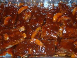 Creole Ribs with Peach BBQ by Sigil79