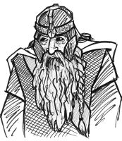 GIMLI from LOTR by phymns