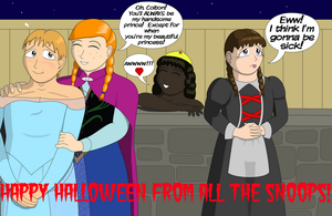 Halloween Sibling Rivalry, Upchuck Style! by MisterMistoffelees