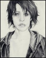 Brody Dalle by Epileptic-Zombie
