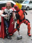Thor Meets Deadpool by KwongBee-Arts