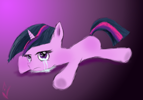 Sad Filly Twi - Contest entry one? by marky1212