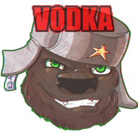 :CO:RUSSIAN BEER HEAD by Blumestien