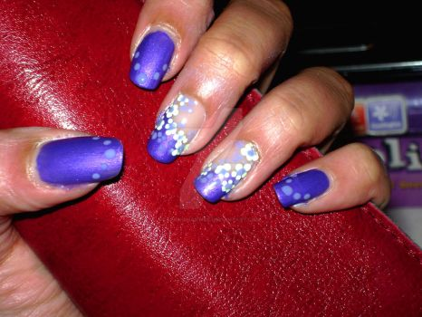 early spring nails by spanishartist
