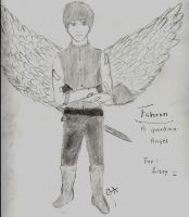 Request: Fahron the Angel by writeacrossme