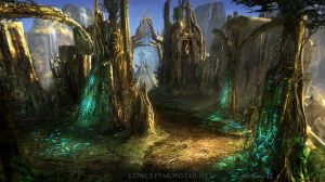 Endless Stair_Fantasy Environment by AlexRuizArt