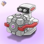 ROB x Companion Cube by MarioMK1
