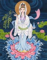 Guan Yin by B-Moussart