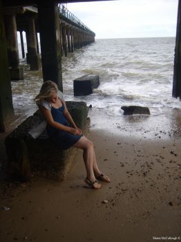 Under The Pier. by Shona-McCullough