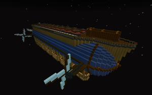 Airship Olympia by Aapur