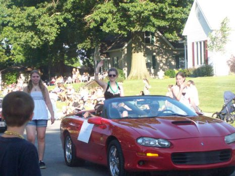 Car I was in for the Parade by MeekBookworm