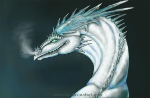 Sekkai - Ice Dragon by Amicela
