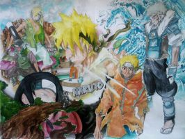 naruto can be an hokage by mugiwaradimby