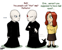Voldemort's Blue Eyes by Sapphiresenthiss