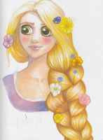 Rapunzel by Ombre-Lumineuse