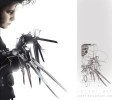 Edward Scissorhands by and01