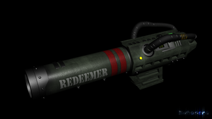 Unreal Tournament's Redeemer by BuhoneroxD