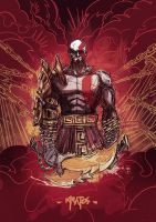 I am the God of War! by thalesmolina