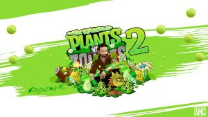 Plants vs Zombies 2 by akyanyme