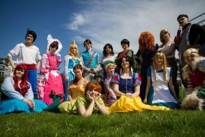 DISNEY- cosplay group by SaaraZ
