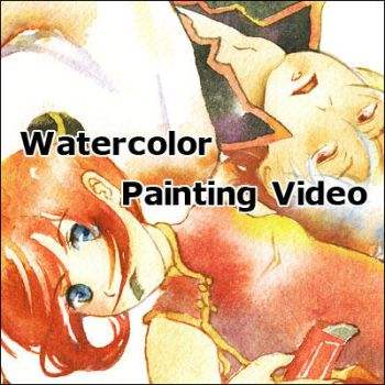 Watercolor painting video IV by muttiy