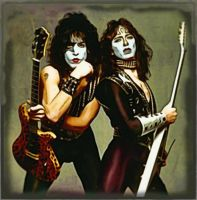 Paul stanley and Vinnie Vincent 1982 by petnick
