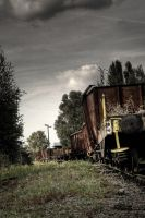 Lost train by kromo