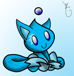 Foxy chao evolved by lozix