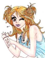 Peach Girl by shadowhearts